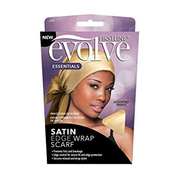 Firstline® Evolve® Satin Edge Wrap Scarf Champagne