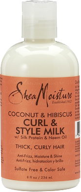 SheaMoisture Coconut & Hibiscus Curl & Style Milk