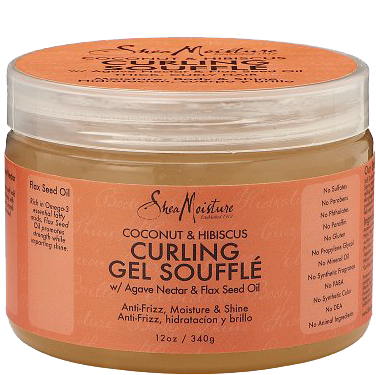 SheaMoisture Coconut & Hibiscus Curling Gel Souffle
