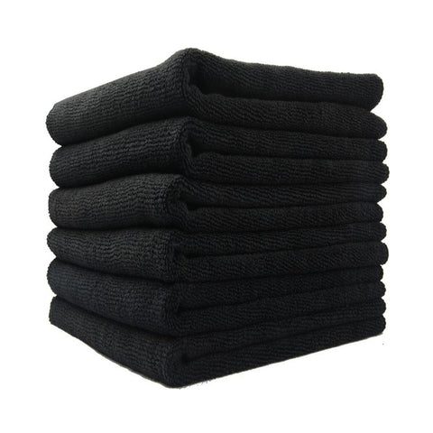 Microfiber Salon Towel Black