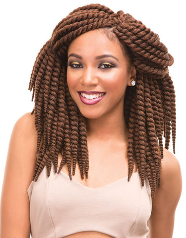 Janet Collection 2X  Slim Mambo Twist Braid 14""