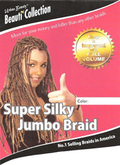 Synthetic Super Silky Jumbo Braid (PP) #Blue