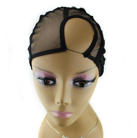 QFITT U-PART WIG CAP - SIDE PARTING