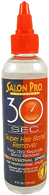 Salon Pro 30 Seconds Bond Remover Oil 4oz