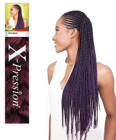 X-Pression Ultra Braid Ombre Colors 46""