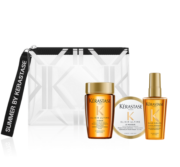 לשיער יוקרתי וקורן <br> Summer Kit ELIXIR ULTIME | Summer Kit ELIXIR ULTIME