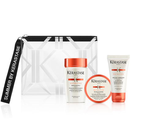 לשיער עבה, מוזן ורך כמשי <br> Summer Kit NUTRITIVE | Summer Kit NUTRITIVE