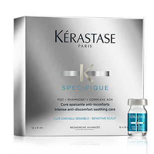 ספסיפיק טיפוח יסודי לאי נוחות <br> CURE APAISANTE SPÉCIFIQUE IRRITATED SCALP | CURE APAISANTE IRRITATED SCALP