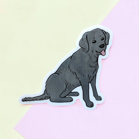 Black Lab Sticker