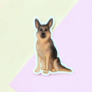 German Shepherd Sticker