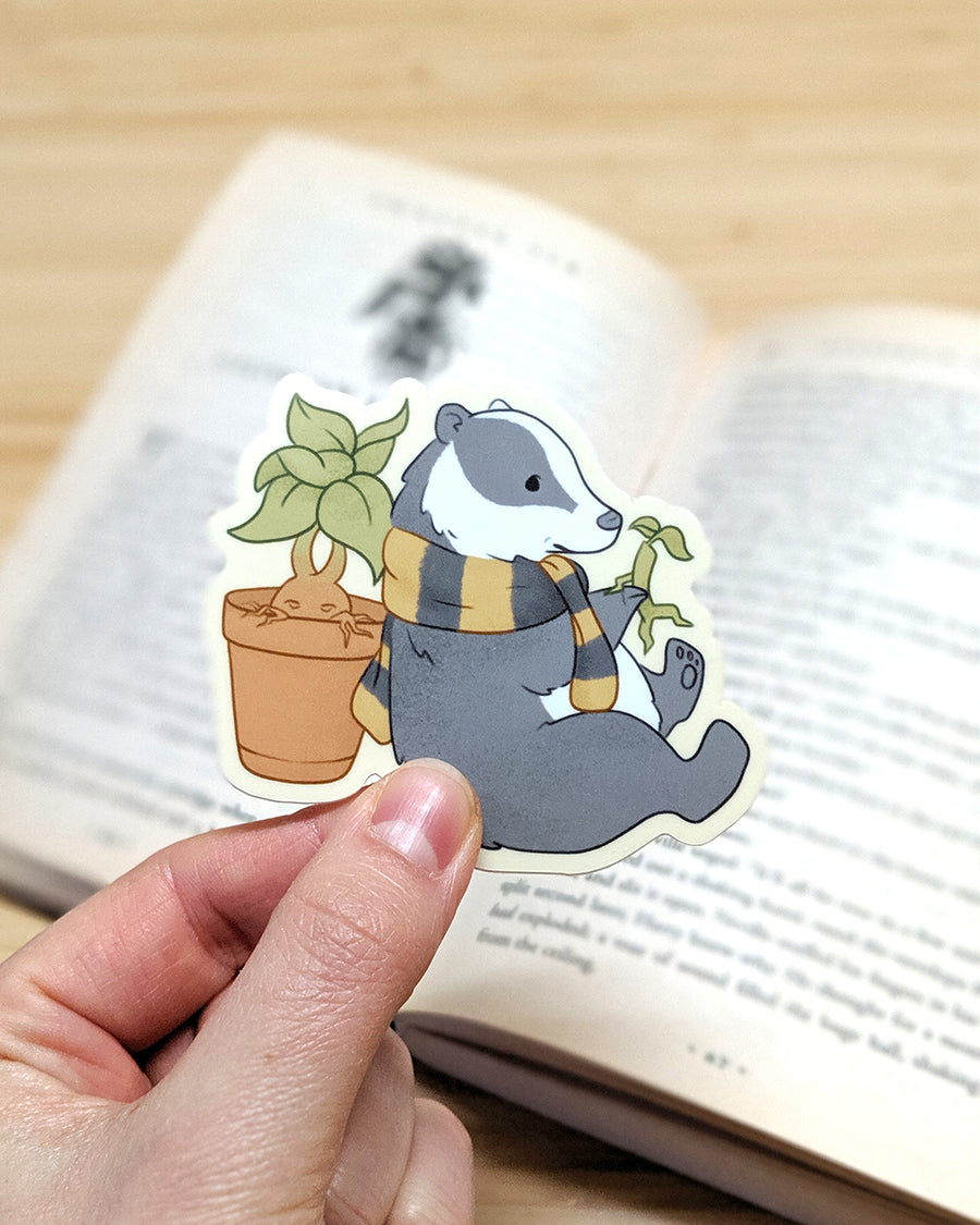 Hufflepuff Badger Sticker
