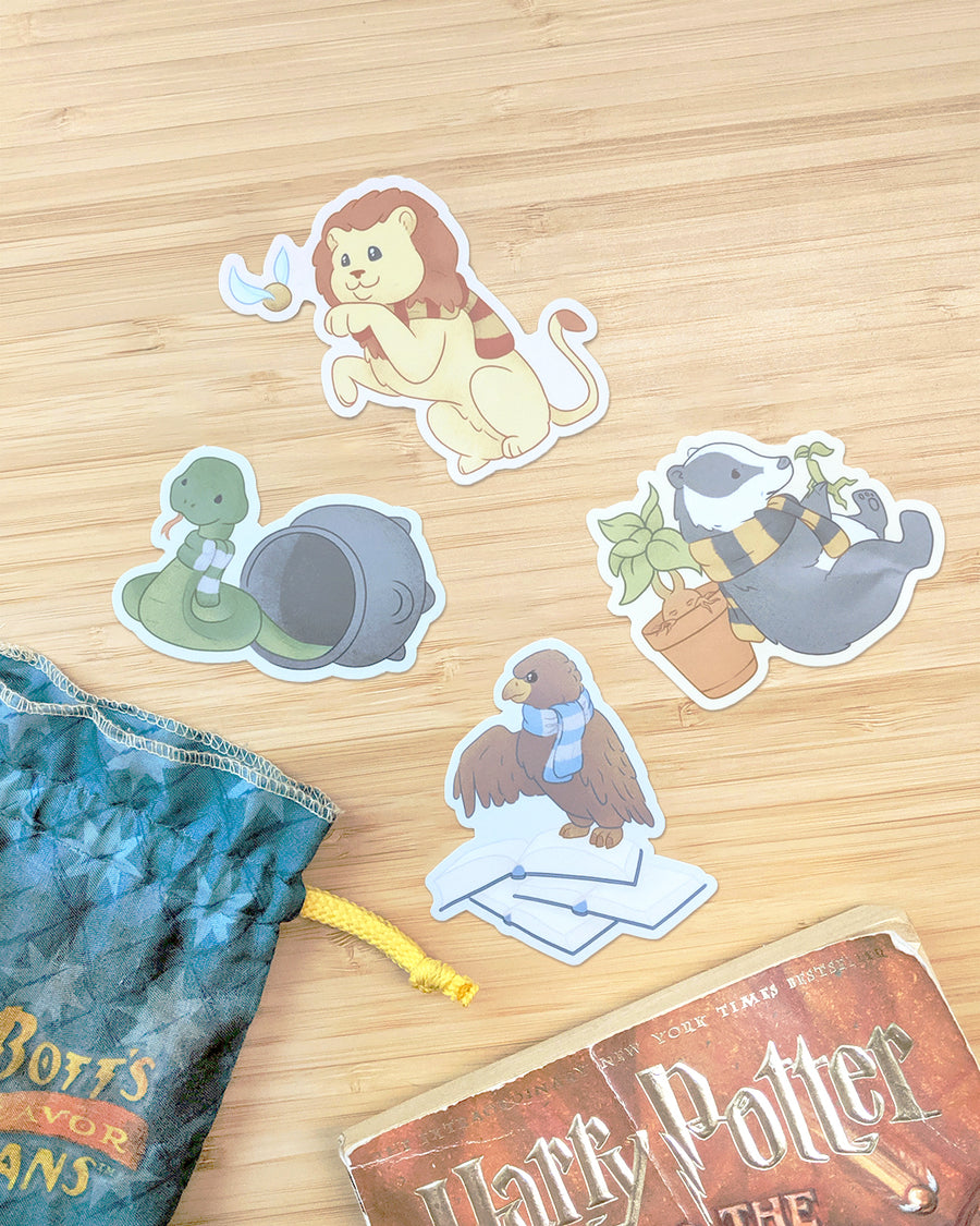 Gryffindor Lion Sticker