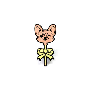 Corgi Lollipup Pin