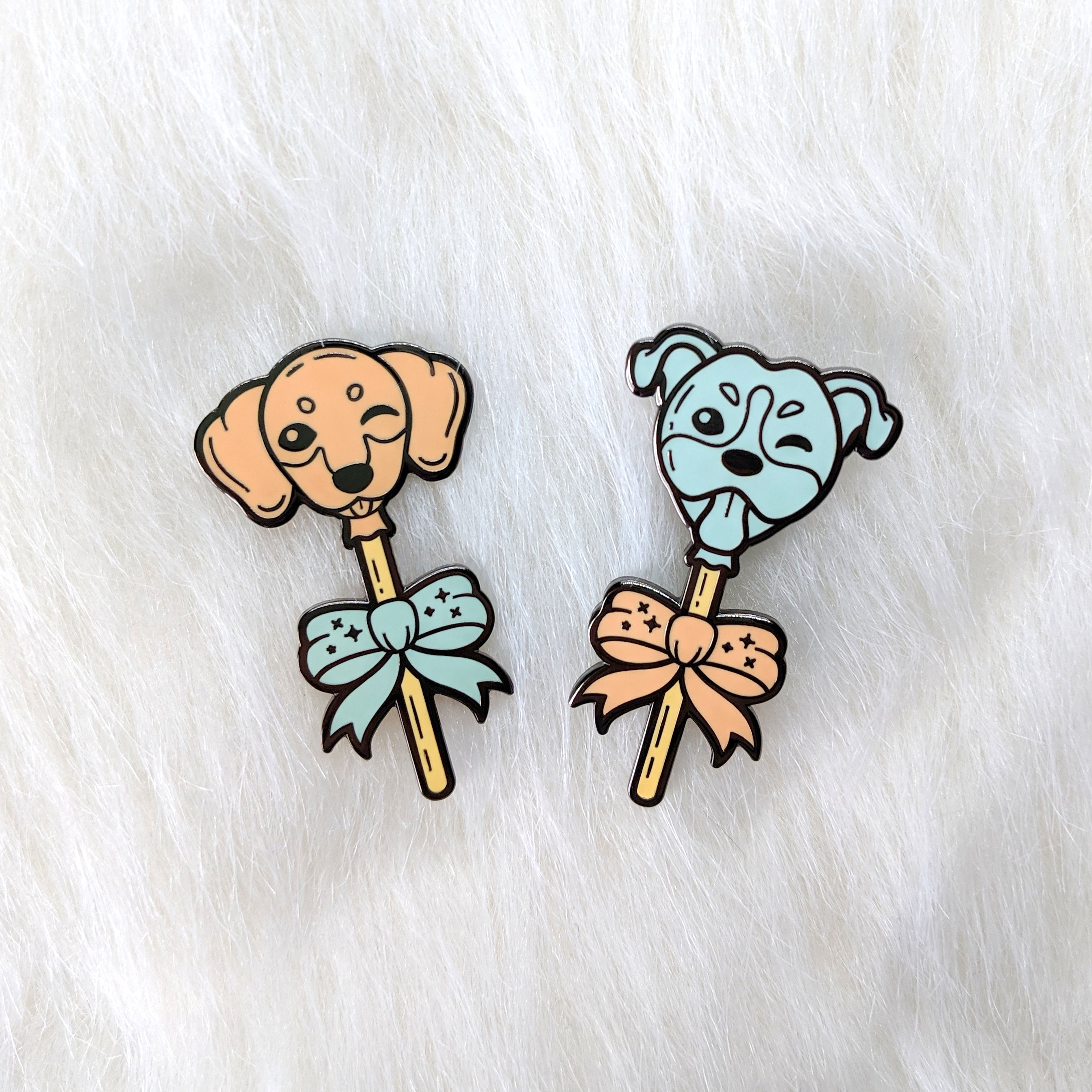 Doxie Lollipup Pin