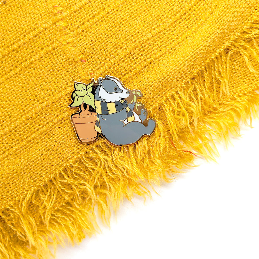 Hufflepuff Badger Pin