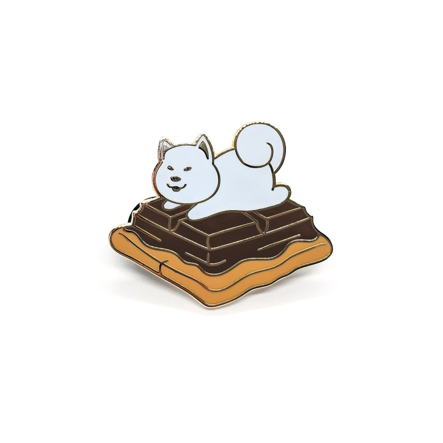 Samoyed S'more Pin