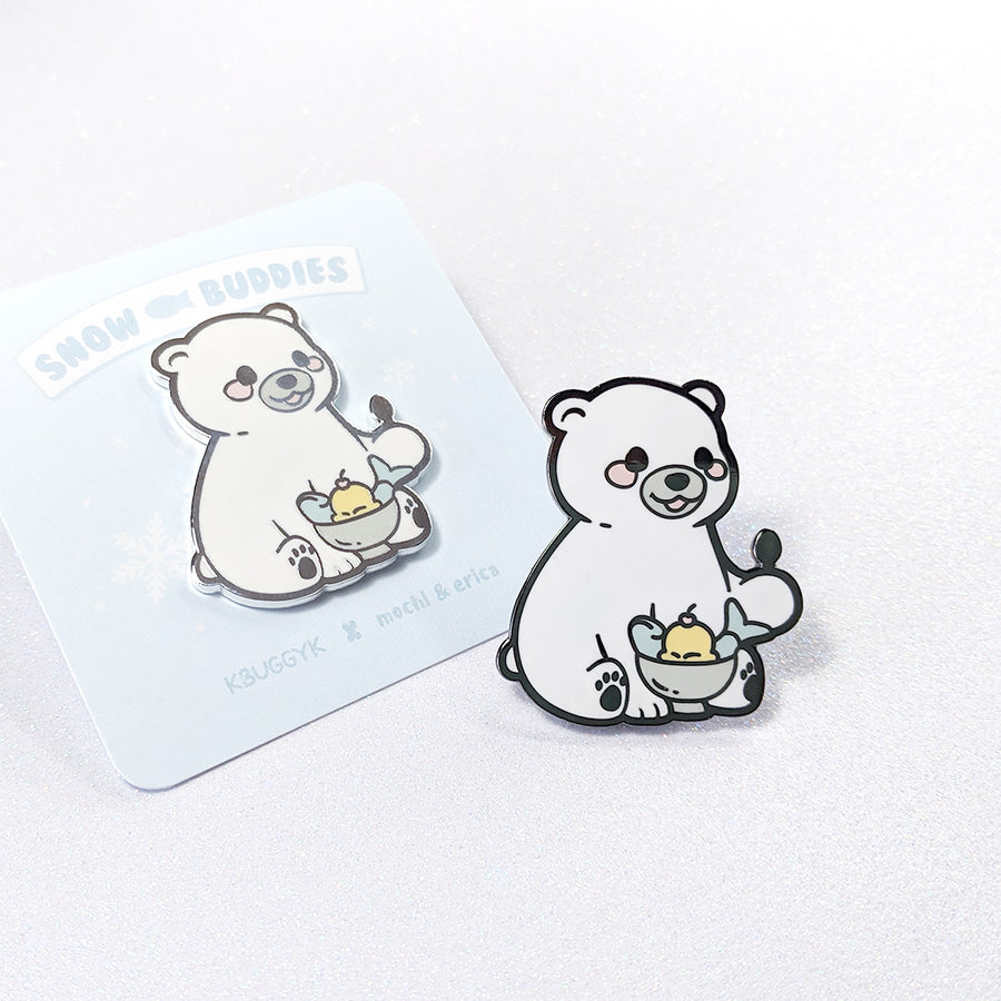 Polar Bear Pin