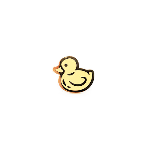 Yellow Ducky Pin
