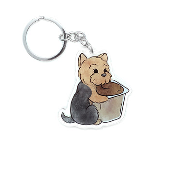 Yorkshire Pudding Keychain