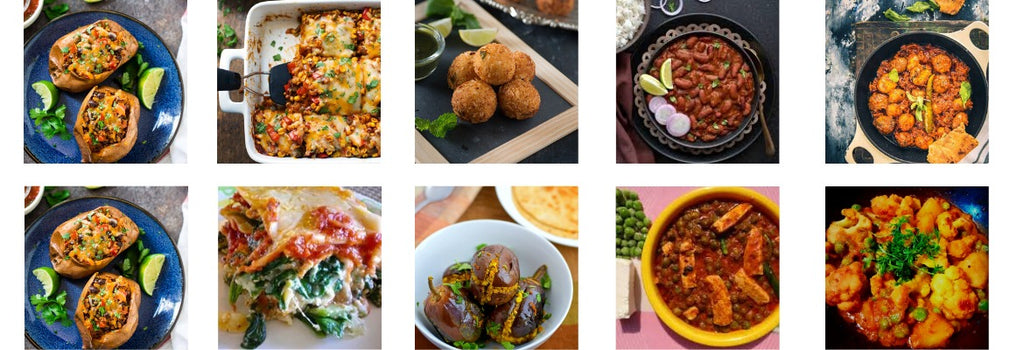 Top 12 Vegetarian Dishes to try at home!