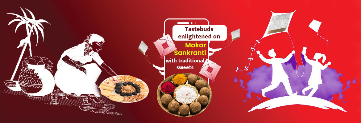 MAKAR SANKRANTI WITH THE VARIETIES OF TIL-SWEETS