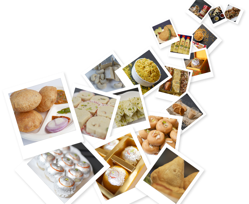Harilal's is the best sweet shop in Patna that brings you a variety of delicious sweets, cookies, cakes, pastries, namkeen, snacks, festive packs and dry fruit combos.