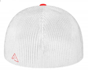Universal Fitted Trucker Mesh- Red, White & Blue