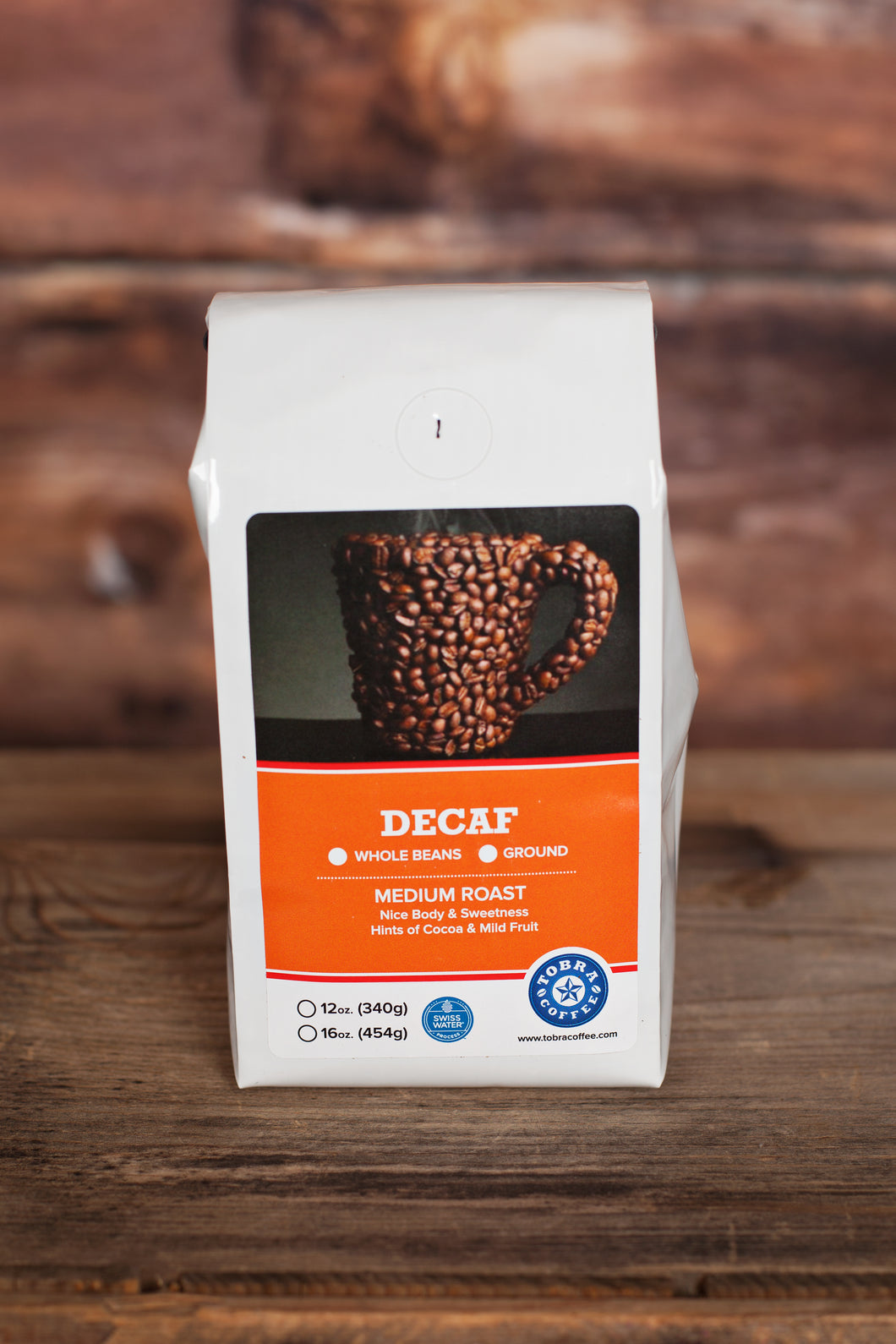 Swiss Water Decaf (Award Winner!)