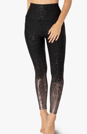 Beyond Yoga - Alloy Speckled Leggings - 35 Strong