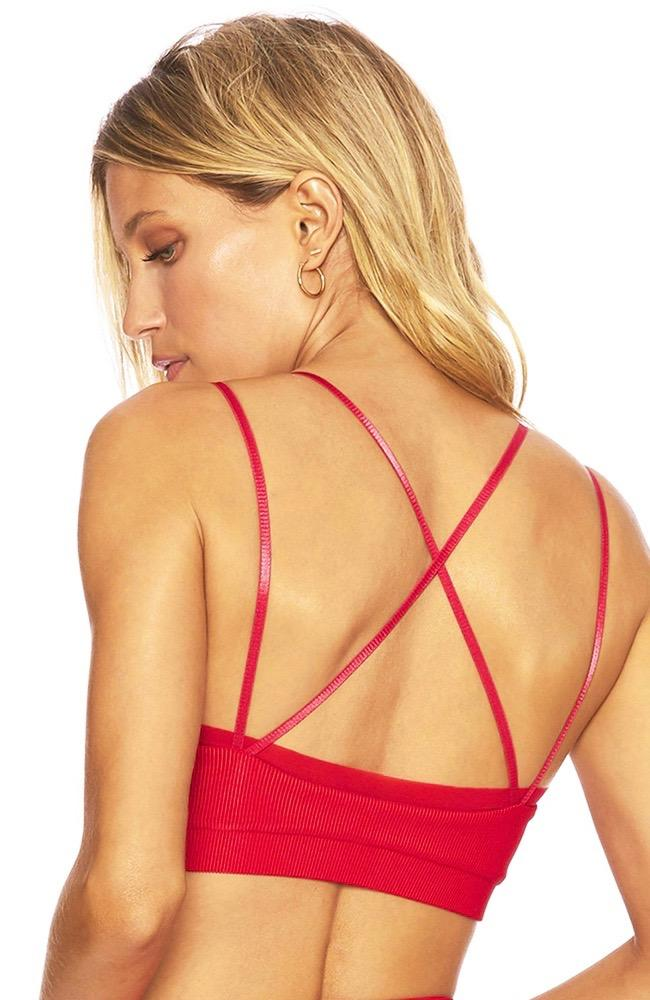 Beach Riot - Red Aria Sport Top- 35 Strong