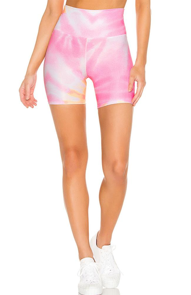 Beach Riot - Sunrise Tie Dye Bike Shorts - 35 Strong