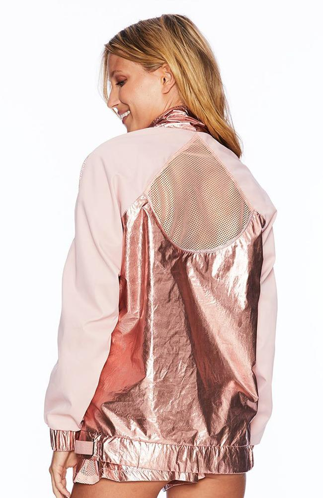 Beach Riot - Rose Gold Metallic Jacket - 35 Strong