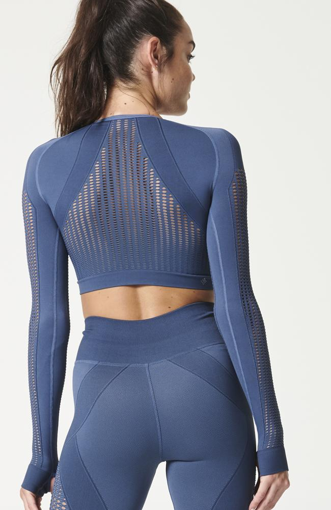 NUX - Breathe Mesh Crop - 35 Strong