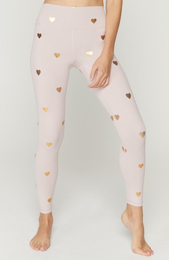 Spiritual Gangster- Heart Leggings - 35 Strong