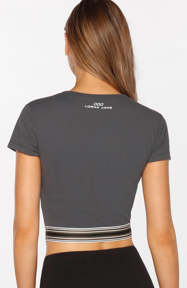 Lorna Jane - Here and There Crop Tee - 35 Strong