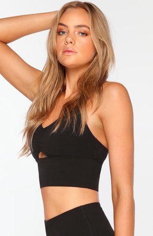 Lorna Jane - Kimmy Sports Bra Black - 35 Strong