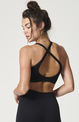 NUX Active - Shapeshifter Sports Bra Black- 35 Strong