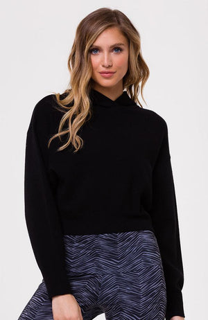 Onzie - Black Crop Sweater - 35 Strong