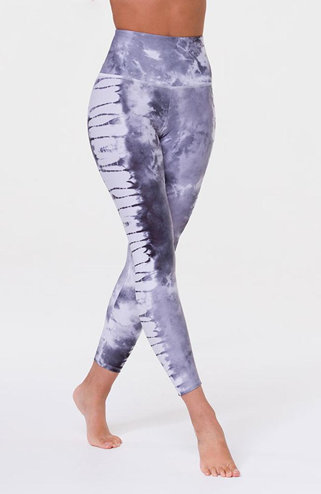 Onzie - Gray Tie Dye Leggings - 35 Strong
