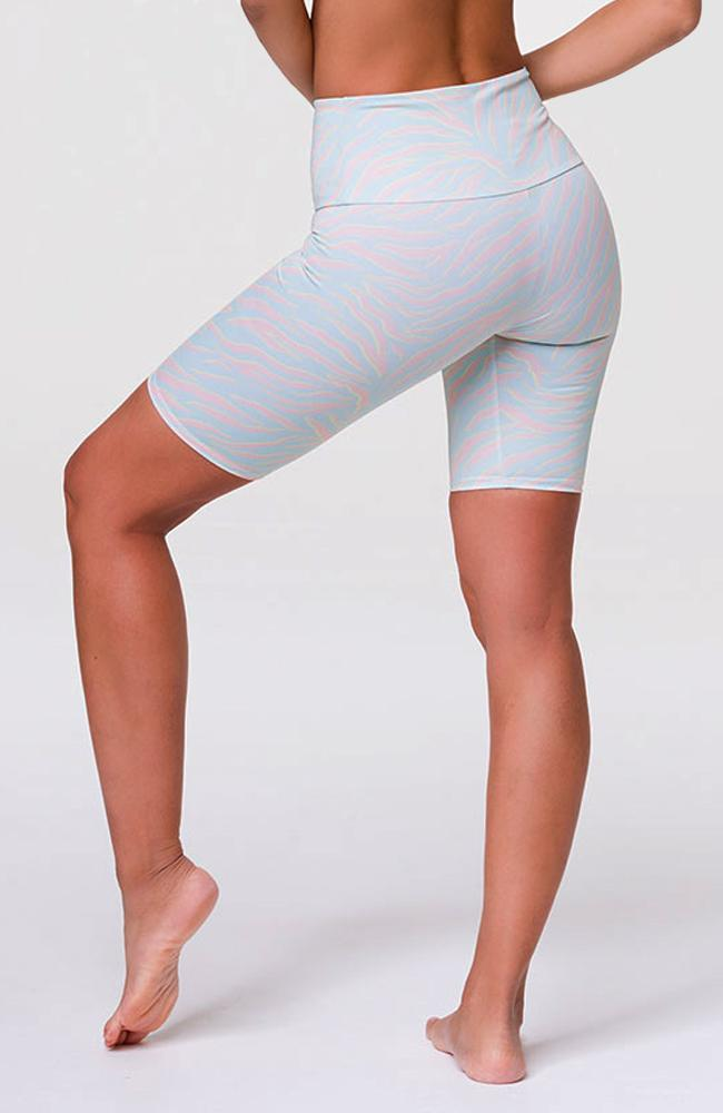 Onzie - Pastel Zebra Bike Shorts - 35 Strong
