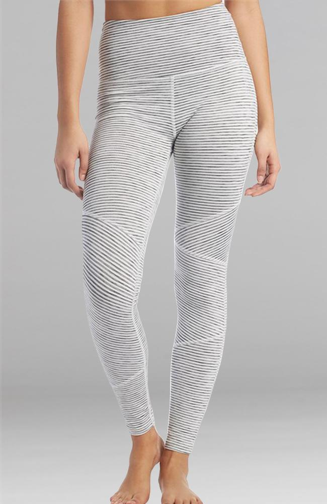 Beyond Yoga - Out of Line Stripe Leggings - 35 Strong