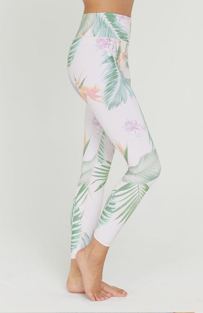 Spiritual Gangster- Palm Print Leggings - 35 Strong