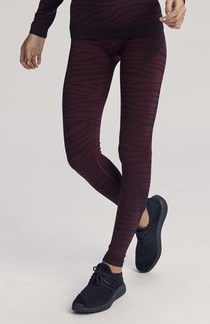 Varley - Rosewood Zebra Leggings - 35 Strong