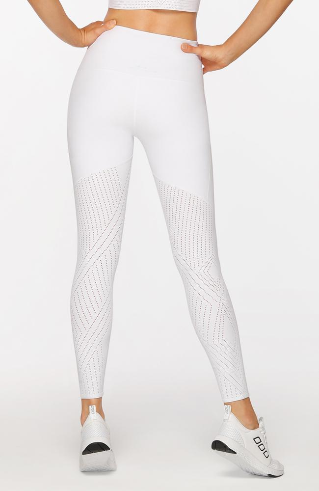 Lorna Jane - Serenity Leggings White - 35 Strong