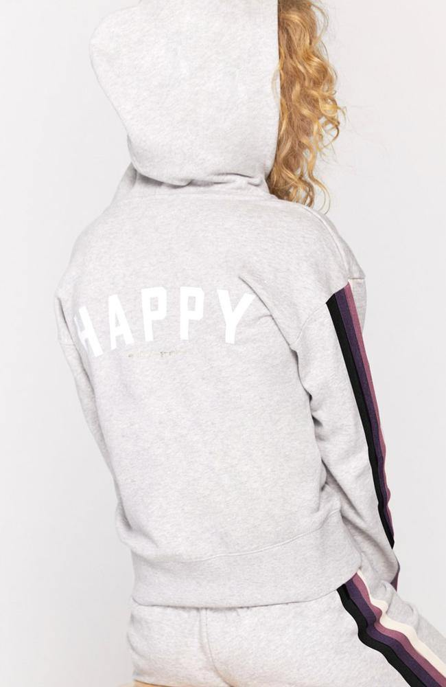Spiritual Gangster - Happy Zip Hoodie - 35 Strong