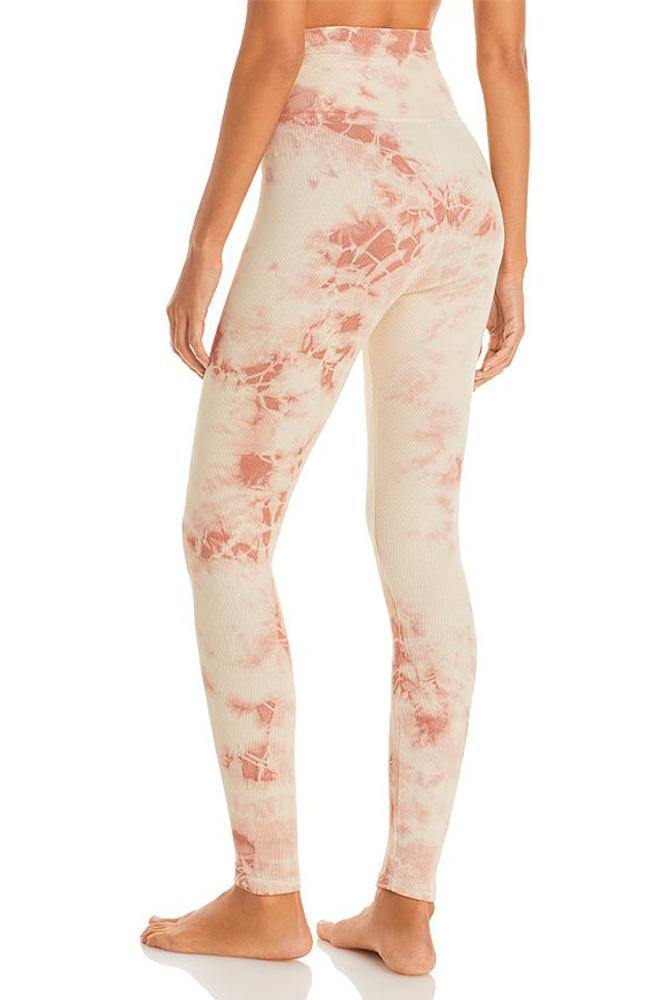 Year of Ours - Mocha Tie Dye Sleep Leggings - 35 Strong