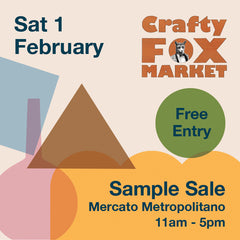 Crafty Fox Market Sample Sale