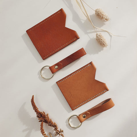 Slim Cardholder in Vachetta Leather