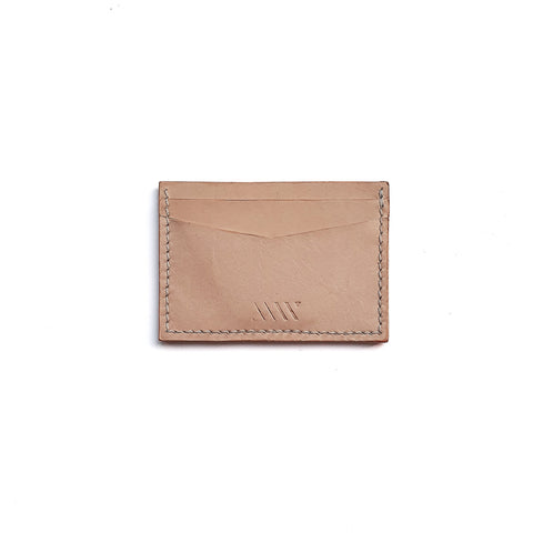 Card Wallet in Natural