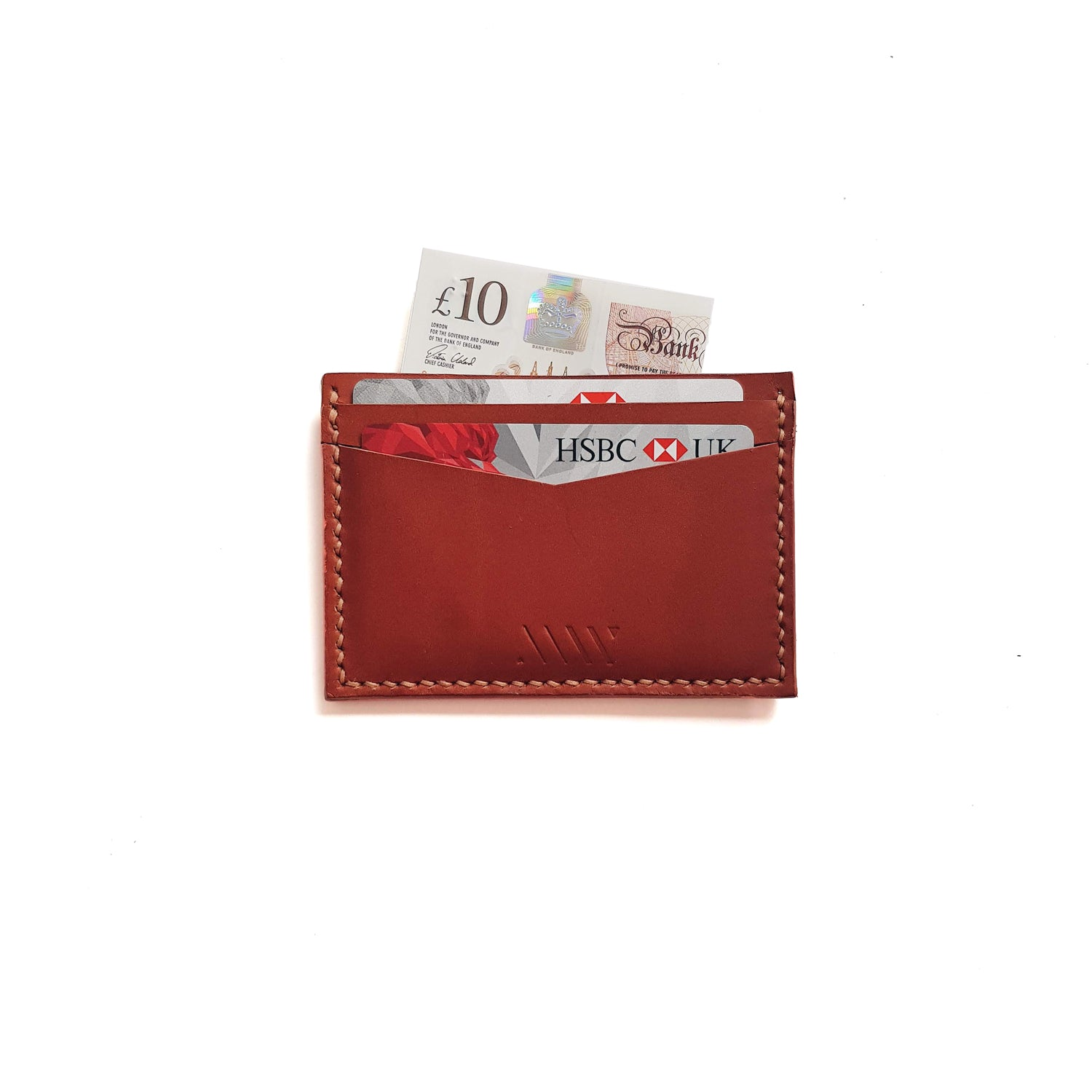 Card Wallet in Tan